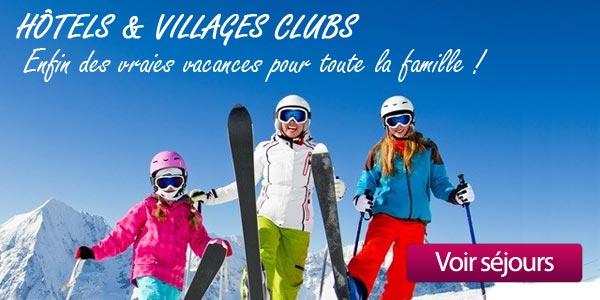 hotels et villages clubs famille