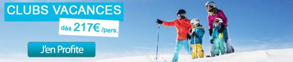 clubs vacances ski