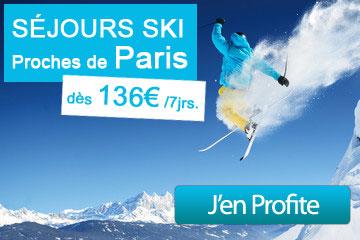séjours ski paris