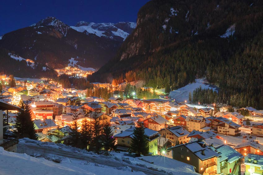 top stations ski noel