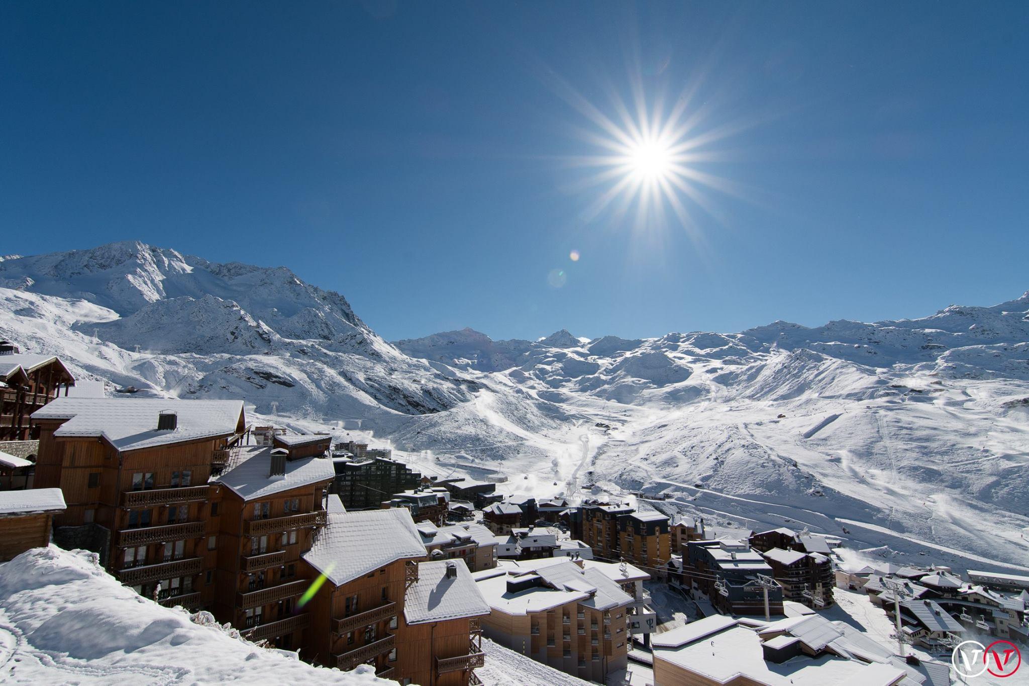 chute neige dans les alpes