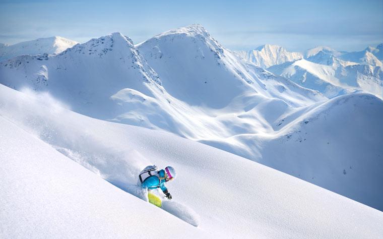 station ski skieurs confirmes