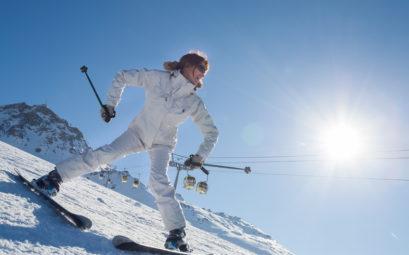 station ski débutant