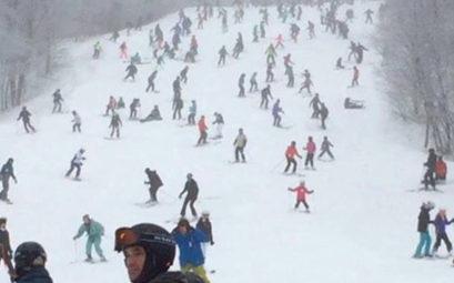 skier hors vacances scolaires