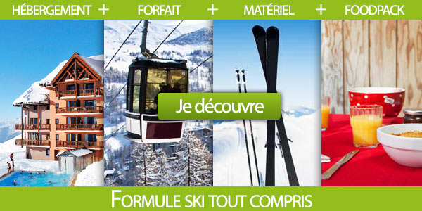 ski avec repas