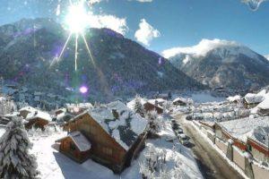 petite station ski champagny en vanoise