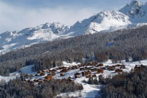 petite station ski peisey vallandry