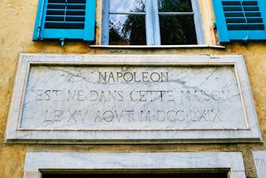 monuments corse napoléon