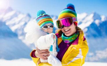 partir au ski avec bebe