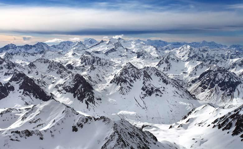 partir au ski dans les pyrenees