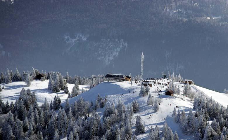 domaine skiables des montagnes du jura
