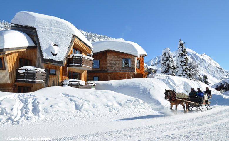 stations ski sans voitures