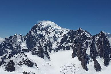 Saint-Gervais et les bains du Mont Blanc