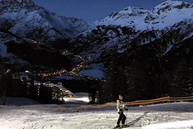 Ski Nocturne Puy Saint Vincent