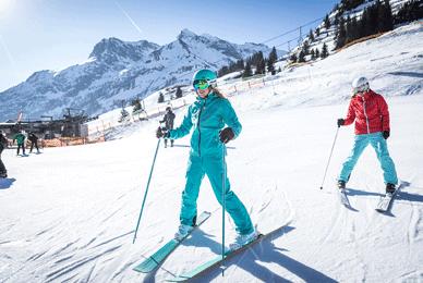 skieuse - choisir ses skis