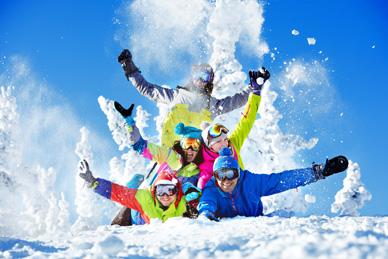 Sejour au ski en famille