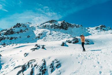 Mont Ruapehu ski en Nouvelle Zelande