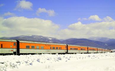 Partir au ski en train