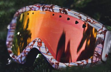 Teinte masque de ski
