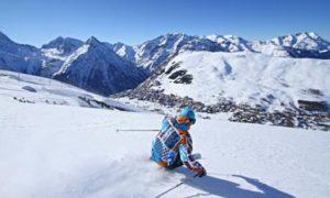 ski les 2 alpes decembre