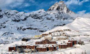 ski cervinia decembre