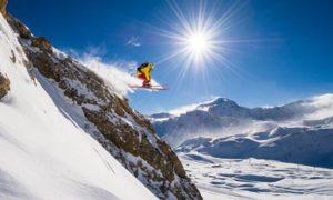 ski tignes decembre