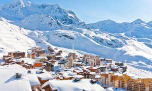 ski val thorens decembre