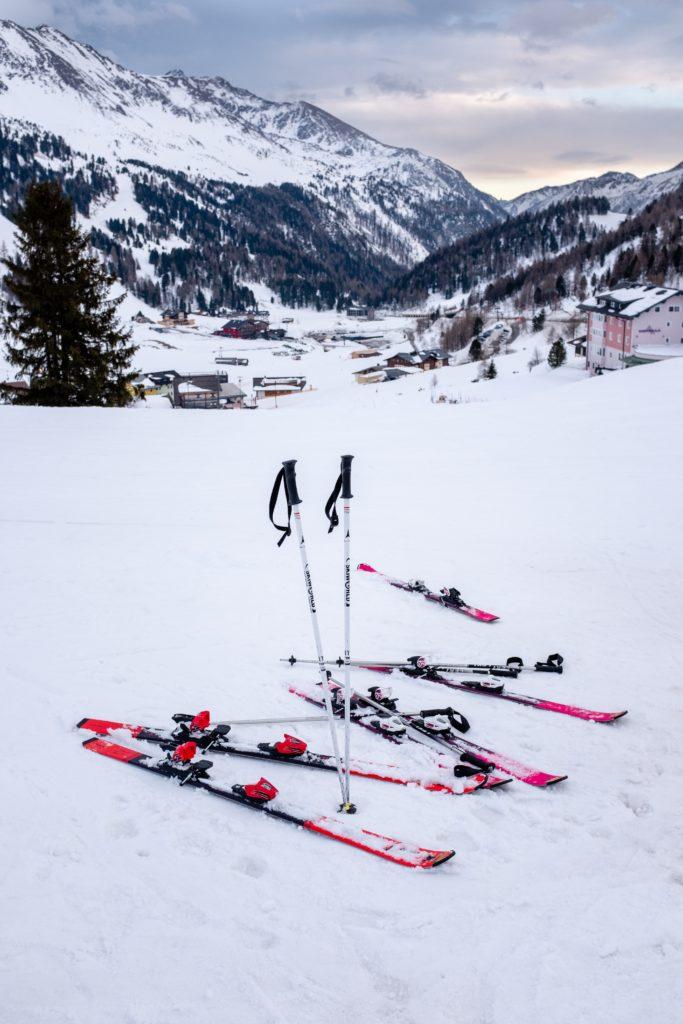 taille ski freestyle