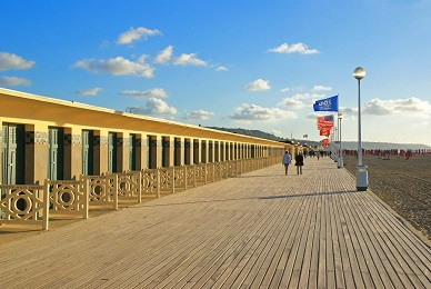 planches deauville normandie
