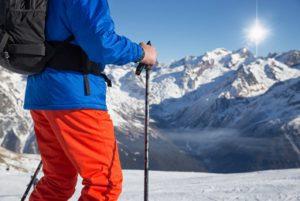 l'importance des bâtons de ski