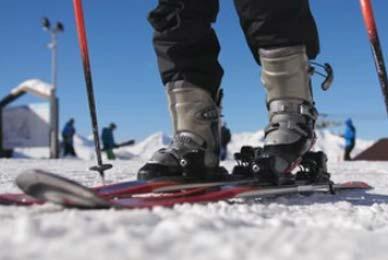 fixation ski