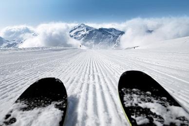 skis en parallèle
