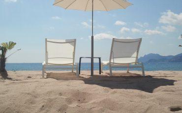 vacances d'été à la plage