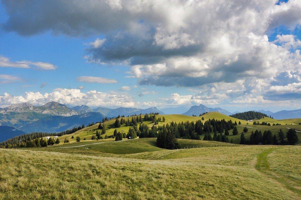 Top 5 des stations des alpes en été