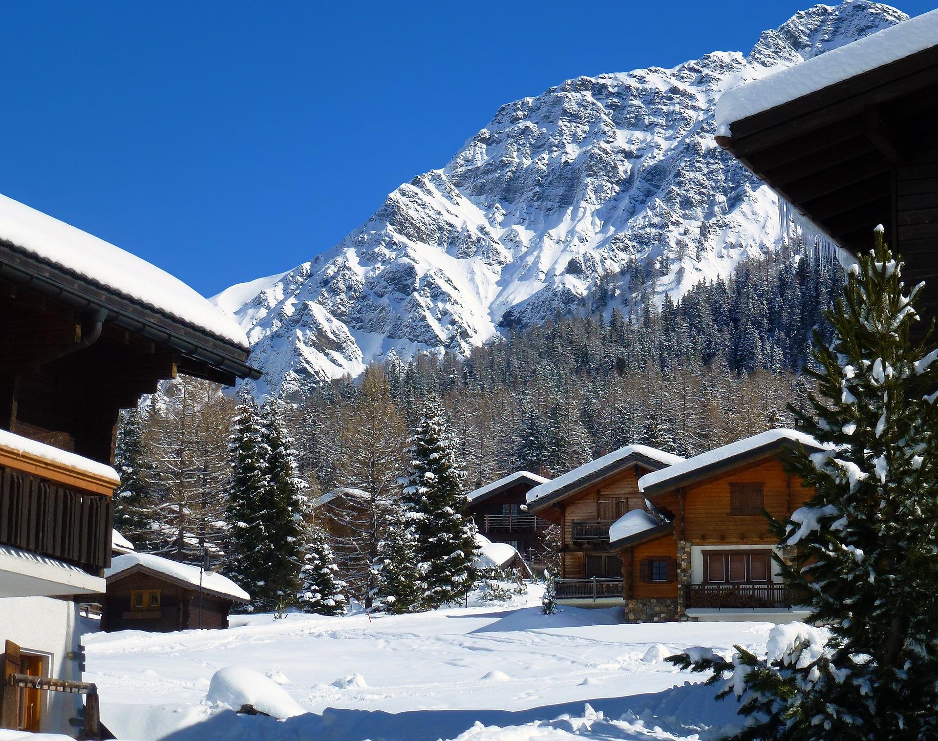 Chalet au ski